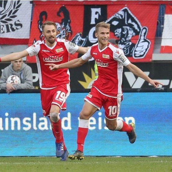 Union Berlin striker Sebastian Andersson took his team upp to promotion place in the 2. Bundesliga with a perfect header in the 89th minute sealing a 3-2 victory over Duisburg. Sebastian has now scored 8 goals in 17 starts. Well done Sebastian! #mdmplayers #mdmplayers