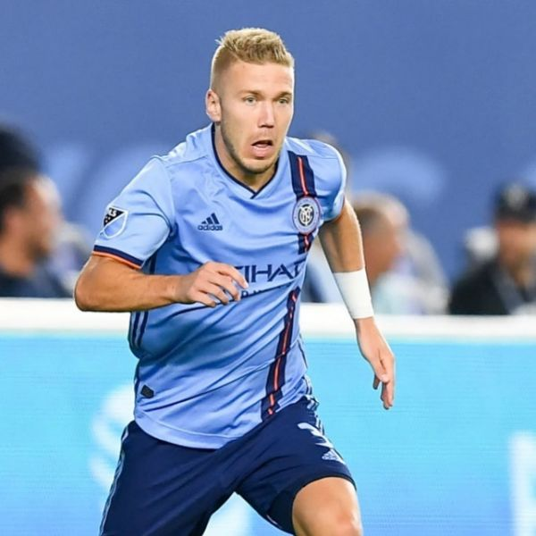 Another assist and great performance by New York City player Anton Tinnerholm in their 0-2 away win vs Philadelphia Union. That was Tinnerholm's second assist in his third game if the season. Well done Anton.