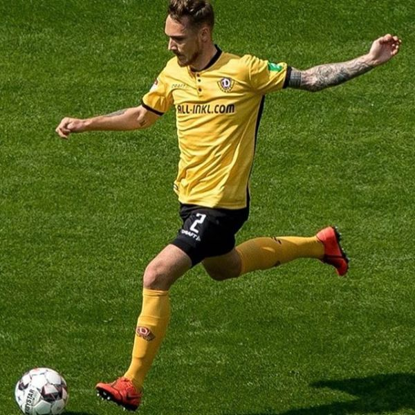 Linus Wahlqvist and Dynamo Dresden had a great game today when they defeated league leaders FC Köln with 3-0.  Well done Linus!