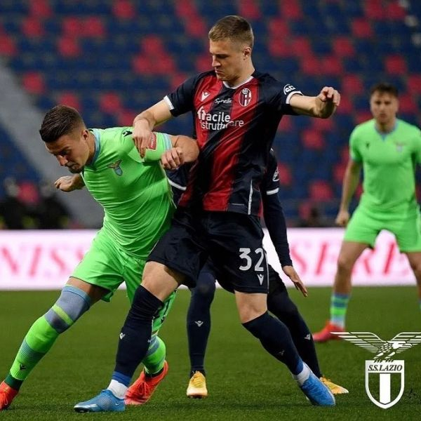 Great game by Mattias Svanberg in Bolognas 2-0 win vs Lazio yesterday. Keep up the great work Mattias.