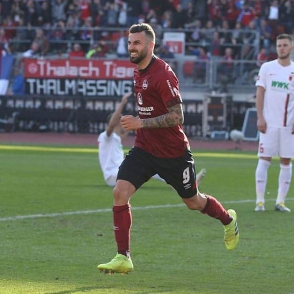 FC Nürnberg Star Mikael Ishak scored his 4th goal of the season in FC Nurnberg's 3-0 win over Augsburg. Well done Mikael.