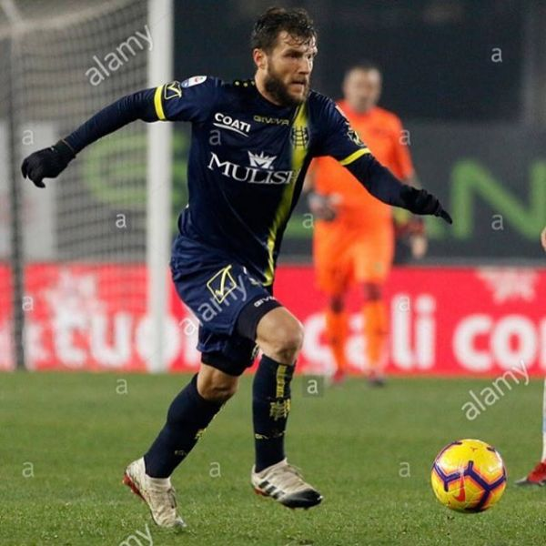 Përparim Hetemaj scored the second goal in Chievo's 2-1 away win vs Lazio. Congratulations Perpa.