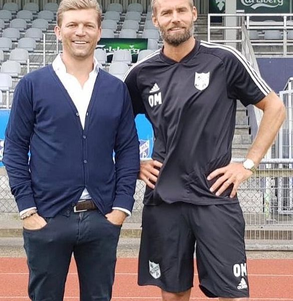 Olof Mellberg appointed new manager for @fremad_amager. Here with MDM partner and ex teammate Marcus Allbäck. Olof was manager for @bp1942 in Sweden between 2016-2017 where he won 2 consecutive leagues titles and took BP to the Swedish Premier League. Good luck Olof.