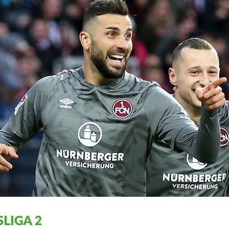Extremely happy to see Mikael Ishak back in the starting eleven and back on the scoresheet. Mikael scored the first goal in Nurnberg 2-2 draw vs Regensburg in the second Bundesliga tonight. Well done Mikael.