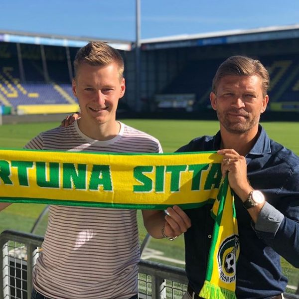 Finnish National team player Rasmus Karjalainen have signed a 4 year contract with Dutch Eredivise team Fortuna Sittard. Here with MDM partner Marcus Allbäck. Congratulations and good luck Rasmus.