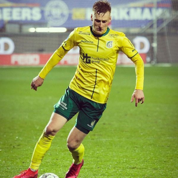 Great to see Finish National team player Rasmus Karjalainen back in the starting eleven when Fortunna Sittard draw Zwolle with 1-1.